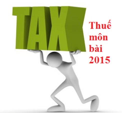 Mức và bậc thuế môn bài quy định thế nào? - Ảnh 1