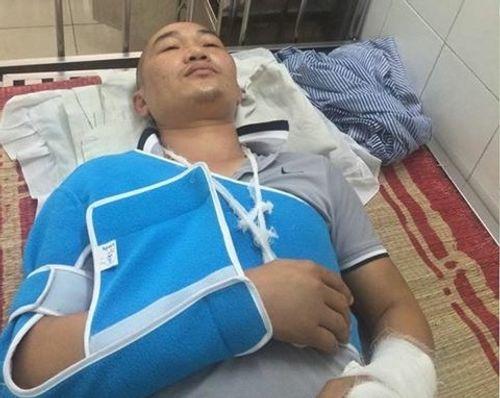 Thanh Hóa: Công an vào cuộc vụ tài xế xe tải bị côn đồ hành hung - Ảnh 1