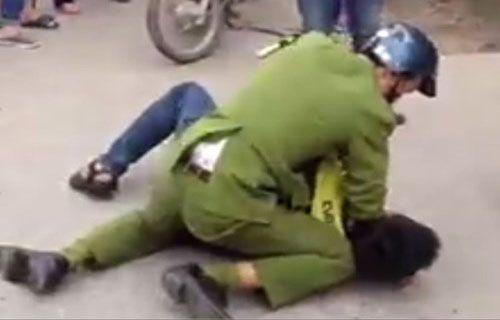 Truy tìm nam thanh niên phạm luật, đạp cảnh sát giao thông - Ảnh 1