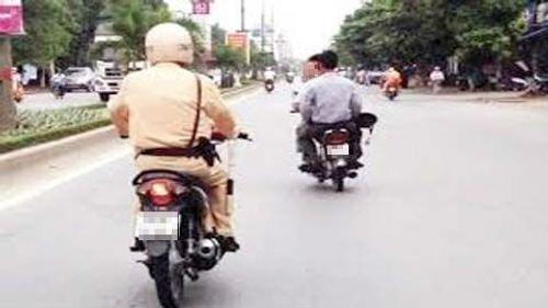 Cảnh sát giao thông có quyền truy đuổi người vi phạm giao thông không? - Ảnh 1