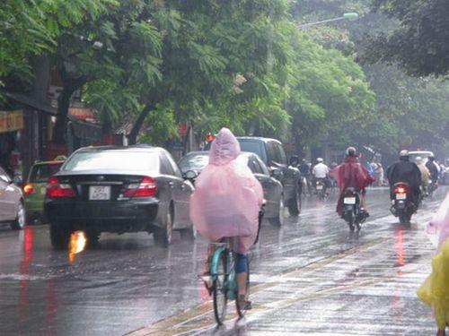 Dự báo thời tiết hôm nay (23/4): Bắc bộ mưa dông, Nam bộ nắng nóng - Ảnh 1