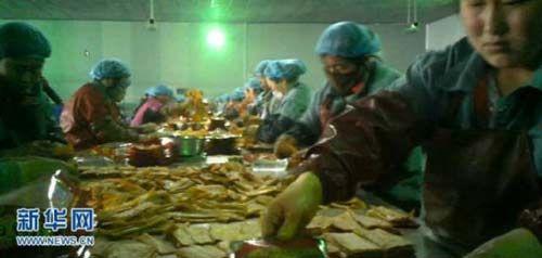 """Hãi hùng xưởng sản xuất mì """"siêu bẩn"""" Trung Quốc - Ảnh 4"""
