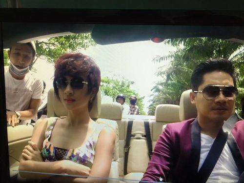 Diễn viên Kim Tuyến bị cướp khi đóng phim trên ôtô mui trần  - Ảnh 1