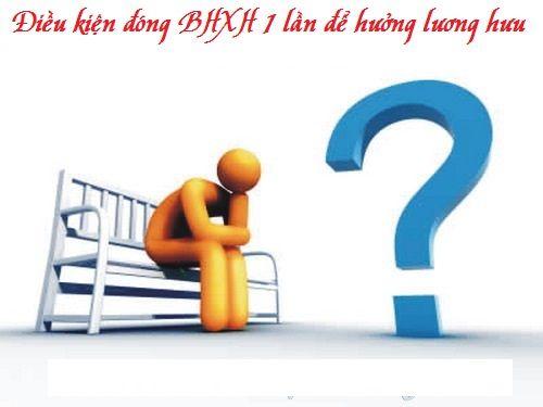 Được đóng BHXH 1 lần cho những năm còn thiếu để hưởng lương hưu? - Ảnh 1