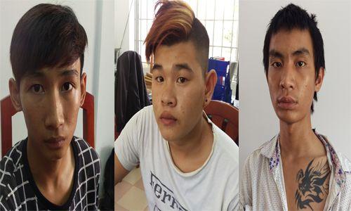 Tóm gọn nhóm thanh niên chặn taxi cướp tài sản ở Cam Ranh - Ảnh 1