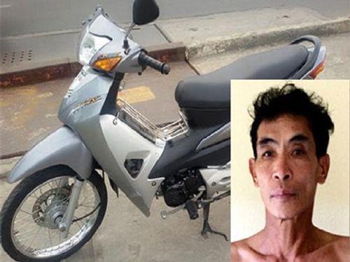 Bắt đối tượng có 5 tiền án vào trụ sở Công an trộm xe máy - Ảnh 1
