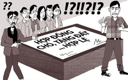Muốn kiện huỷ hợp đồng tặng cho quyền sử dụng đất được không?  - Ảnh 1