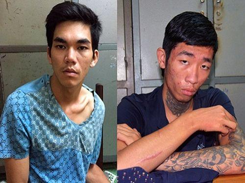 Bắt 2 kẻ tấn công, cướp tài sản của nhiều tài xế taxi  - Ảnh 1