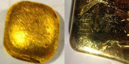 """Vàng """"rởm"""" xuất hiện tại VN: Những dấu hiệu lạ khi nhìn bằng mắt thường - Ảnh 2"""