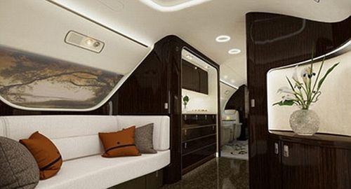 Bên trong máy bay đại gia với giá thuê 260 triệu/giờ bay - Ảnh 4