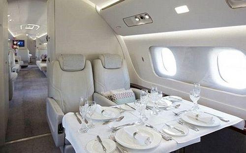 Bên trong máy bay đại gia với giá thuê 260 triệu/giờ bay - Ảnh 5