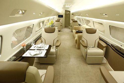 Bên trong máy bay đại gia với giá thuê 260 triệu/giờ bay - Ảnh 2