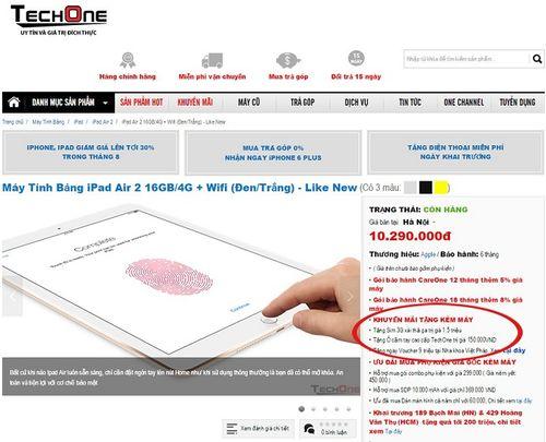 """TechOne và những """"lùm xùm"""" về cách bán hàng - Ảnh 1"""
