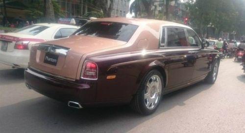 """Rolls-Royce Phantom Lửa thiêng 50 tỷ """"náo loạn"""" đường phố HN - Ảnh 2"""