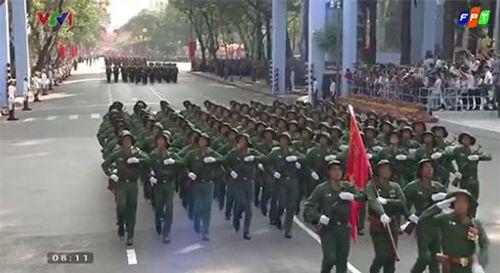 Chi tiết lễ diễu binh mừng ngày 30/4 - Ảnh 14