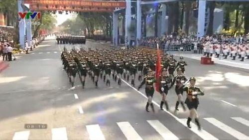 Chi tiết lễ diễu binh mừng ngày 30/4 - Ảnh 18