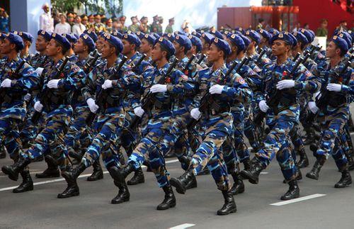 Chi tiết lễ diễu binh mừng ngày 30/4 - Ảnh 16