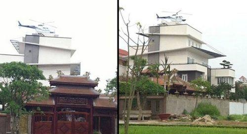 """Lộ diện đại gia Việt có """"trực thăng"""" đậu trên nóc nhà  - Ảnh 2"""