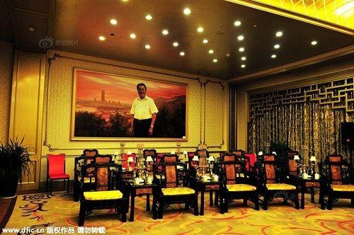 Cận cảnh khách sạn 74 tầng dát vàng ở Trung Quốc - Ảnh 6