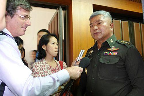 Một tướng quân đội Thái Lan bị bắt do liên quan tới buôn người - Ảnh 1