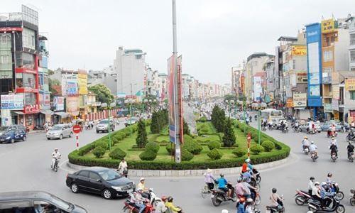 """""""Lộ"""" con đường đắt nhất hành tinh mới ở Hà Nội - Ảnh 1"""