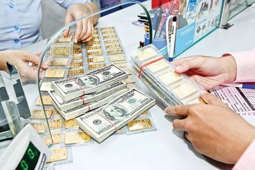 Giá vàng SJC chiều nay 8/6 giảm thêm 30.000 đồng/lượng, giá USD/VND ổn định - Ảnh 1