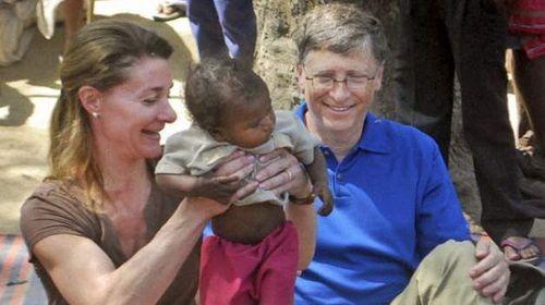 Tỷ phú Bill Gates: Sống là cho đi - Ảnh 2