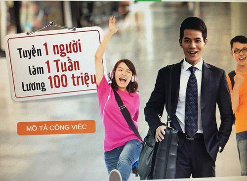 Ngân hàng Việt trả lương 100 triệu cho 1 tuần làm việc - Ảnh 1