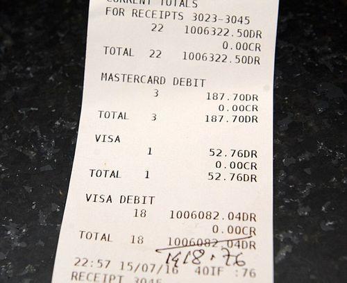 Sốc: Thực khách trả 33 tỷ cho bữa ăn giá 3 triệu đồng - Ảnh 1