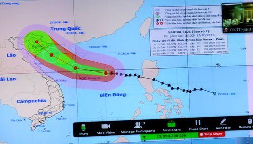 Bão số 7 đi vào các tỉnh từ Thái Bình đến Quảng Ninh - Ảnh 1