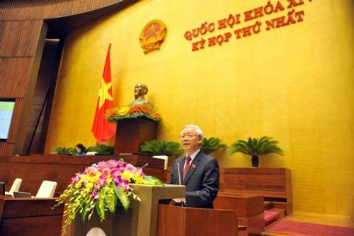 Tổng Bí thư kiến nghị 5 định hướng lớn với Quốc hội khóa XIV - Ảnh 1