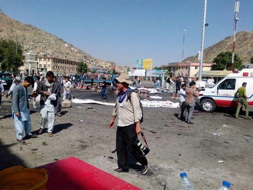 IS nhận trách nhiệm vụ tấn công ở Afghanistan - Ảnh 1