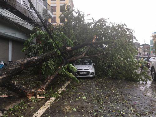 Hà Nội: CSGT huy động 100% quân số giúp dân sau mưa bão - Ảnh 3