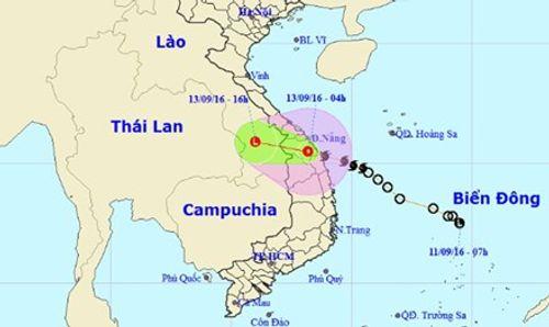 Bão số 4 suy yếu thành áp thấp nhiệt đới  - Ảnh 1