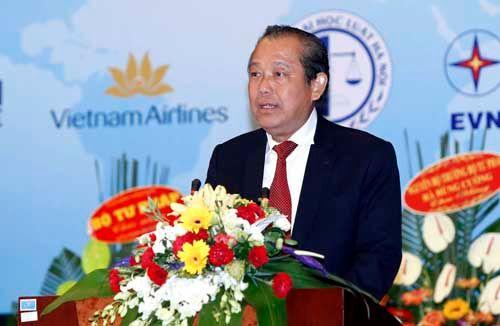 Phó Thủ tướng Trương Hòa Bình dự Đại hội thành lập Hội Luật quốc tế Việt Nam - Ảnh 1