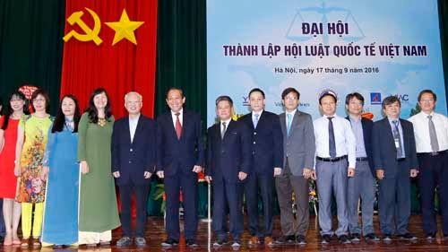 Phó Thủ tướng Trương Hòa Bình dự Đại hội thành lập Hội Luật quốc tế Việt Nam - Ảnh 3