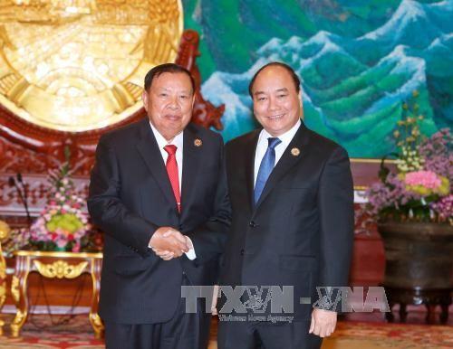 Việt Nam luôn dành ưu tiên cao nhất cho mối quan hệ Việt Nam-Lào - Ảnh 1
