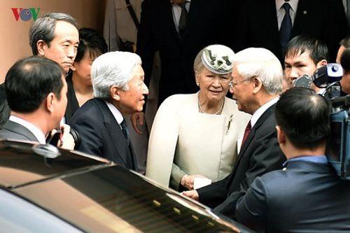 Toàn cảnh chuyến thăm Việt Nam của Nhà vua và Hoàng hậu Nhật Bản - Ảnh 14