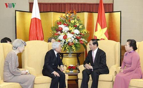 Toàn cảnh chuyến thăm Việt Nam của Nhà vua và Hoàng hậu Nhật Bản - Ảnh 16