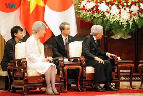 Toàn cảnh chuyến thăm Việt Nam của Nhà vua và Hoàng hậu Nhật Bản - Ảnh 4