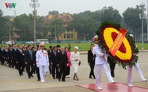 Toàn cảnh chuyến thăm Việt Nam của Nhà vua và Hoàng hậu Nhật Bản - Ảnh 5