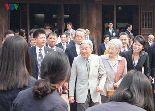 Toàn cảnh chuyến thăm Việt Nam của Nhà vua và Hoàng hậu Nhật Bản - Ảnh 8