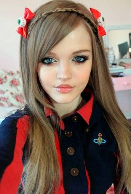 """Ngỡ ngàng với cô gái """"búp bê sống"""" nổi tiếng ở Nhật - Ảnh 7"""