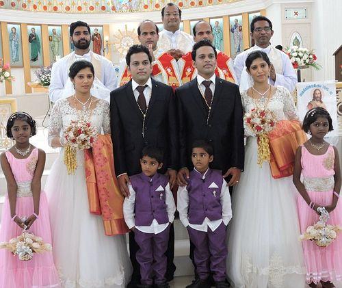Đám cưới chung kỳ lạ của hai cặp song sinh - Ảnh 3