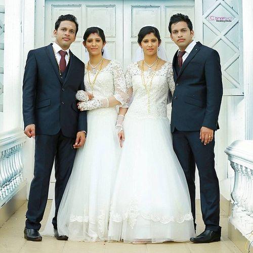 Đám cưới chung kỳ lạ của hai cặp song sinh - Ảnh 1