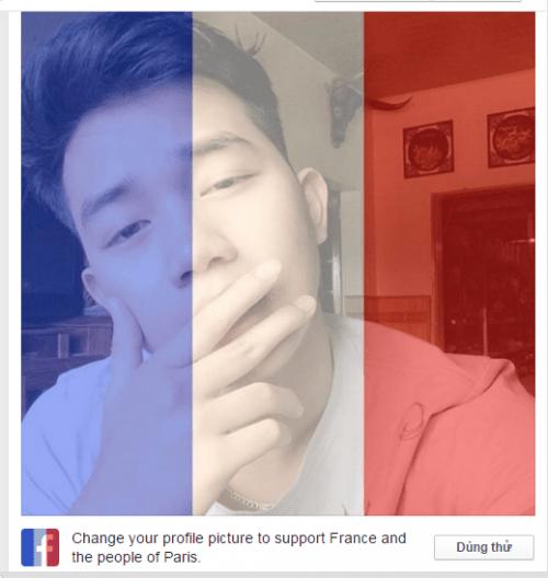 Dân mạng Việt đồng loạt thay avatar quốc kỳ Pháp sau vụ khủng bố - Ảnh 4