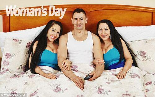 Chị em song sinh phẫu thuật giống nhau để cùng yêu một người đàn ông - Ảnh 4