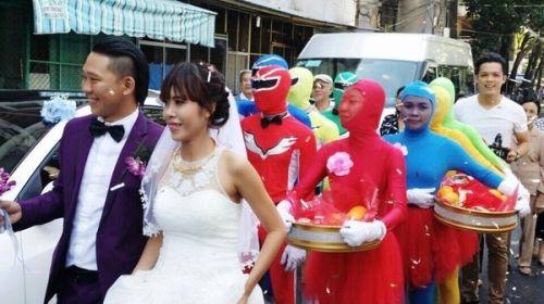 """Choáng với đám cưới phiên bản """"siêu nhân"""" - Ảnh 1"""