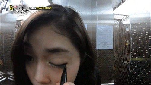 """Nữ sinh Hàn """"biến hình"""" siêu tốc vì mẹ không cho trang điểm đi học - Ảnh 4"""