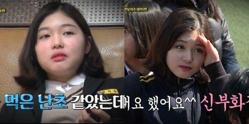 """Nữ sinh Hàn """"biến hình"""" siêu tốc vì mẹ không cho trang điểm đi học - Ảnh 1"""